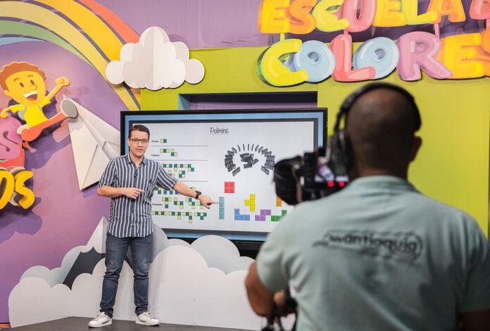 Profes Melos, proyecto de la Escuela de Colores se emite por Teleantioquia