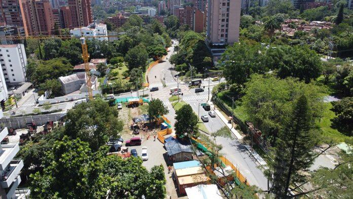 Nuevas obras de valorización en El Poblado En lomas Los Parra y Los Balsos