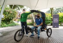 Estudiantes de EAFIT desarrollan un vehículo para apoyar el trabajo de los recicladores de Postobón