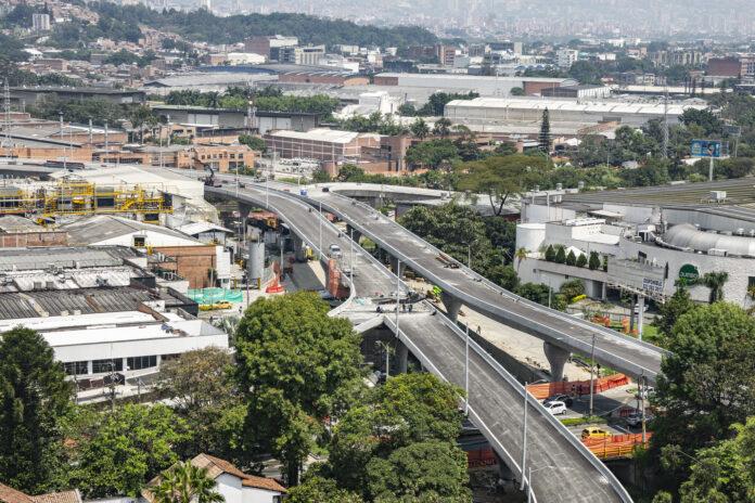 Entrega del intercambio vial de La Ayurá, se extiende hasta septiembre de 2021