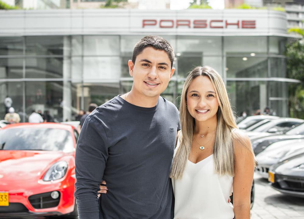 Simón Correa y Manuela Escobar