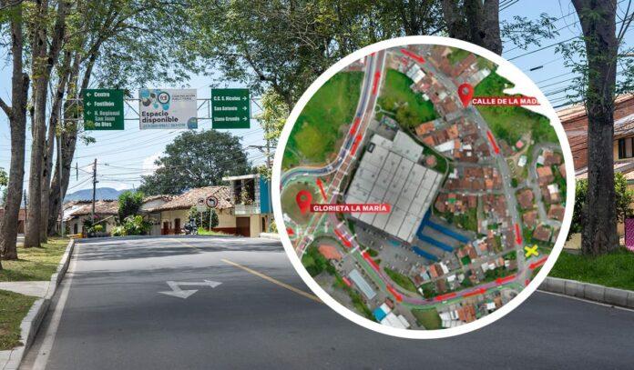 Cambios viales en el municipio de Rionegro