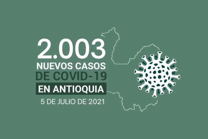 COVID19 en Antioquia al 5 de julio