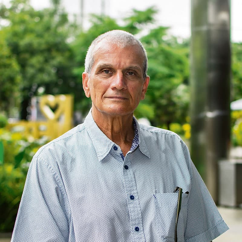 Carlos Cadavid, ingeniero y director MDE - Urban Lab