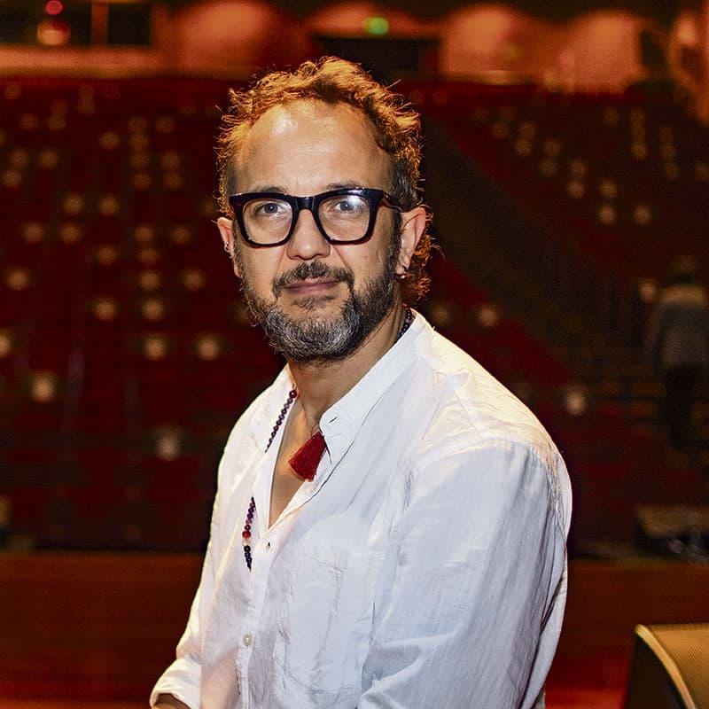 César López, director artístico del proyecto.