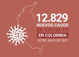 Con 12.829 nuevos contagios, Colombia suma 4.668.750 casos de COVID19