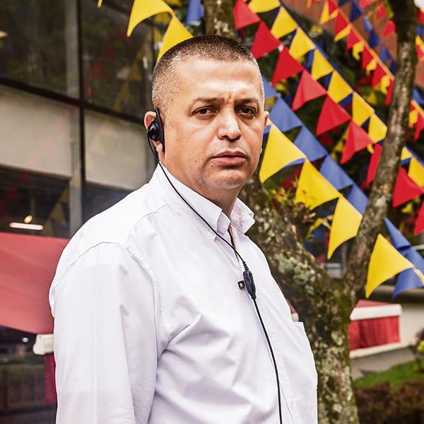 Darío Pérez, uno de los administradores de La Vaquita en  Los Balsos.