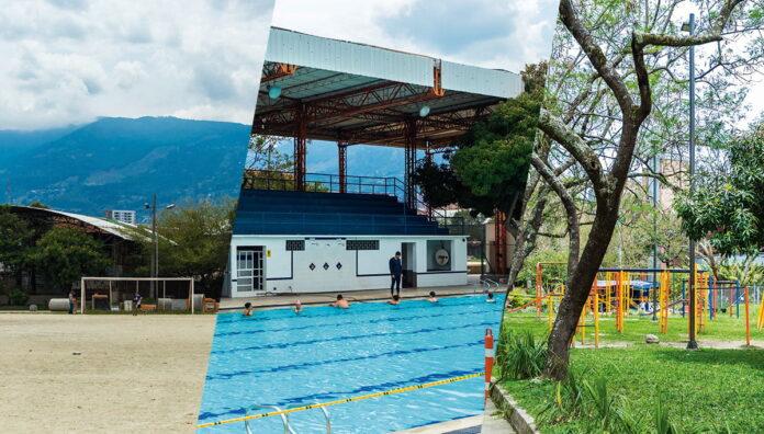 El Polideportivo Sur de Envigado se renueva