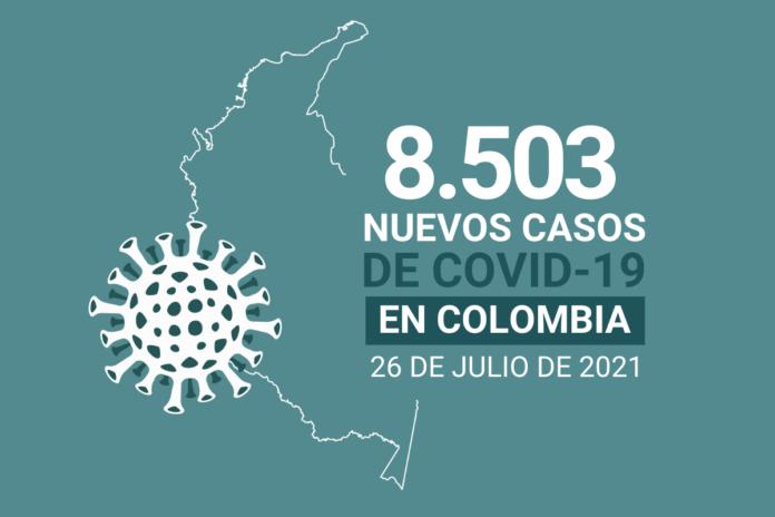 Más de 119.000 personas han fallecido en Colombia por complicaciones del COVID19