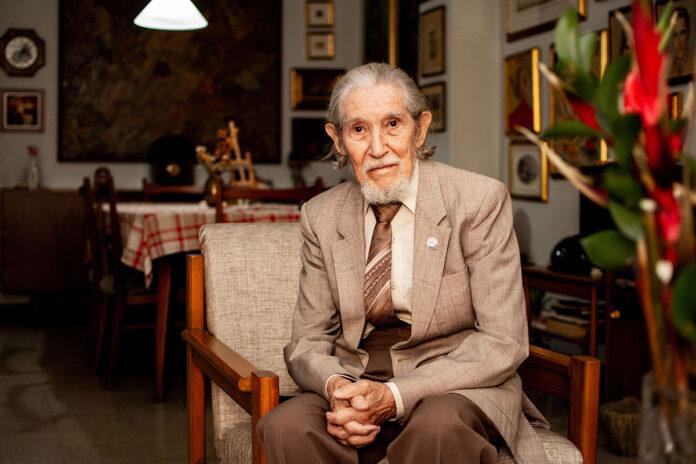 Pablo Guerrero fundador del Club Fotográfico de Medellín