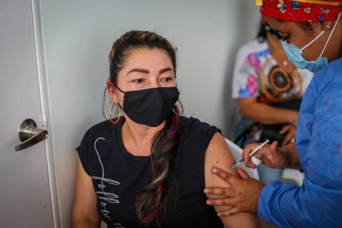 Vacunación en Colombia contra COVID19 al 21 de Julio