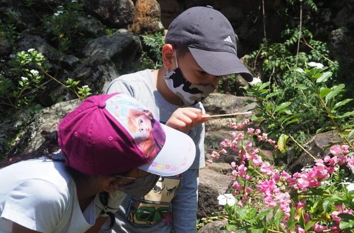 Club Científico infantil, en el Parque de la Conservación