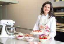 Isabel Posada es la chef pastelera del hotel Maria Cristina, sede del Festival de Cine de San Sebastián