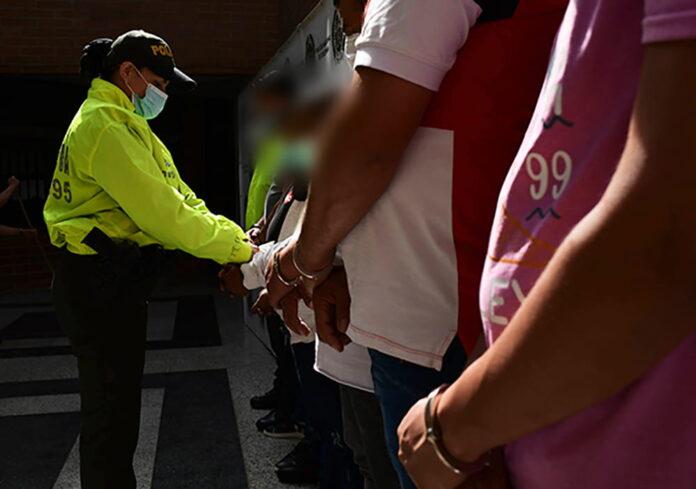 Policía Metropolitana capturó a sospechosos del millonario robo en edificio Forum, en El Poblado