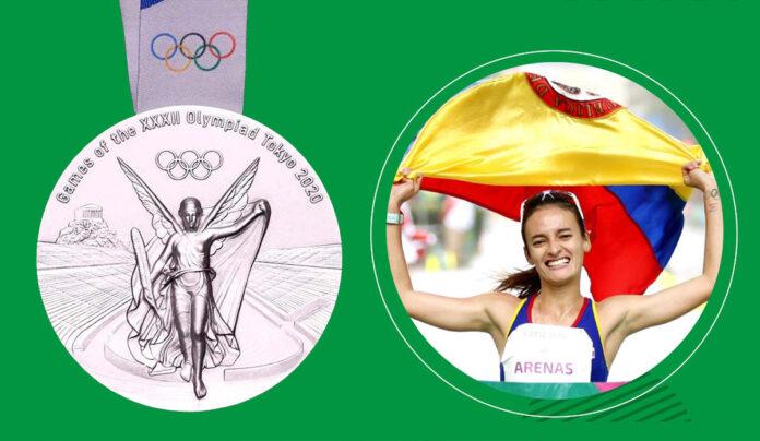 Sandra Lorena Arenas, medallista olímpica orgullo de Colombia y el Politécnico JIC
