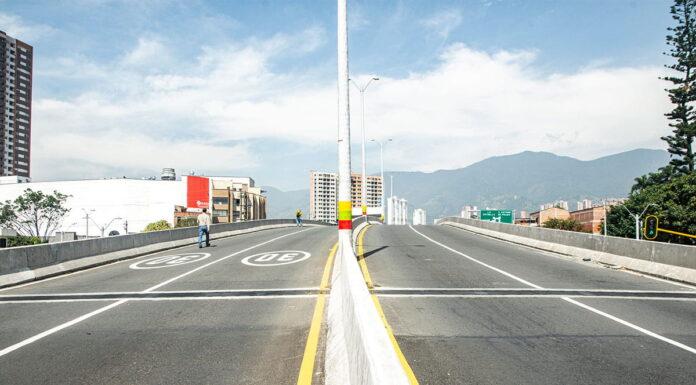 Entra en funcionamiento el intercambio vial Induamérica, al sur del Valle de Aburrá