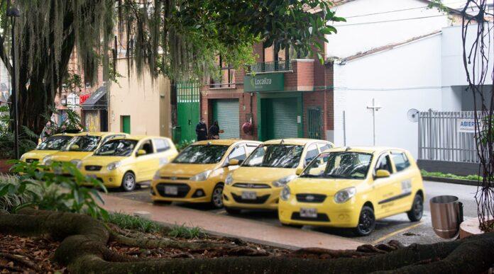 Rotación del pico y placa en Medellín