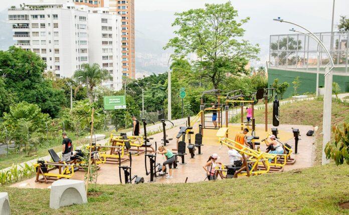 Escenarios deportivos públicos del Inder Medellín en El Poblado