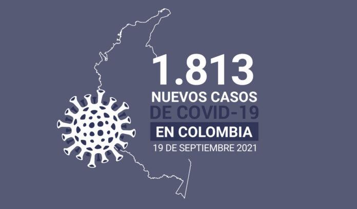 35 muertes por COVID19 en Colombia, el promedio de los últimos días