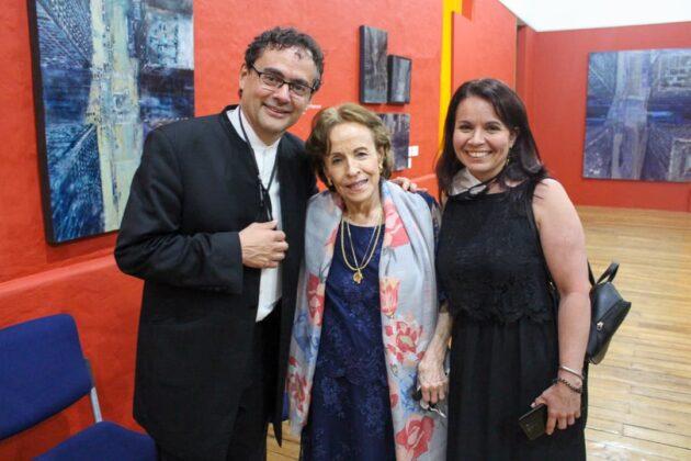 Alejandro Posada, Blanca Uribe y Patricia Angarita
