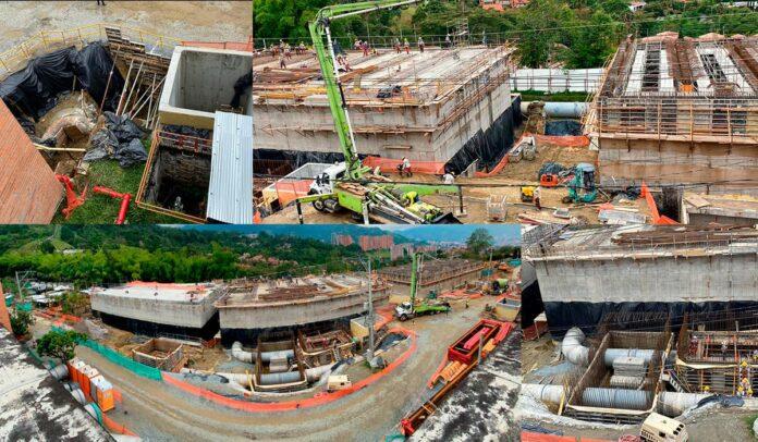 EPM avanza en obras para asegurar el servicio de acueducto en Envigado