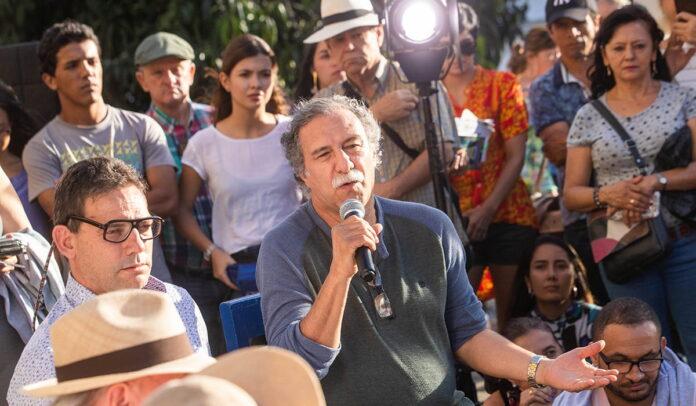 El Festival de Cine de Jardín se inaugura con amor por los campesinos y Jorge Velosa