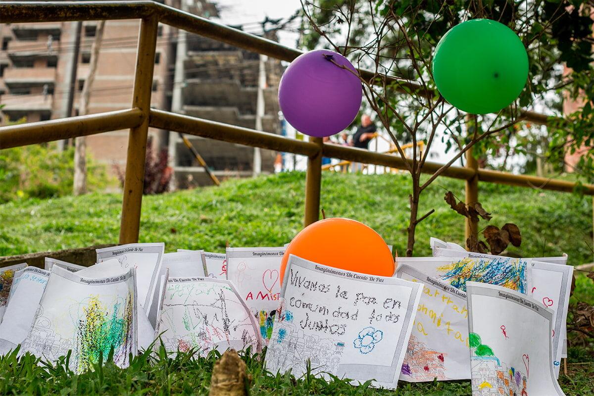En Medellín se conmemoro el Día Internacional de la Paz
