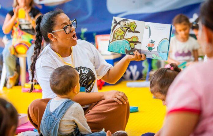 La Fiesta del Libro invita a Jardín Lectura Viva