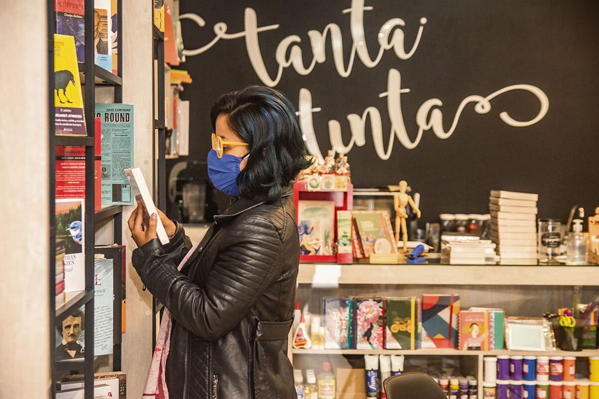 Una de las líneas de trabajo del proyecto RUTAI de El Retiro es el Nodo de cocreación cultural, que reúne a las propuestas culturales del municipio, como Tanta Tinta, Librería y Café.