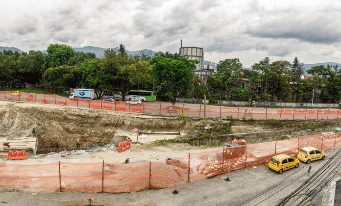 Los trabajos de Metroplús en Envigado seguirán hasta bien entrado 2022