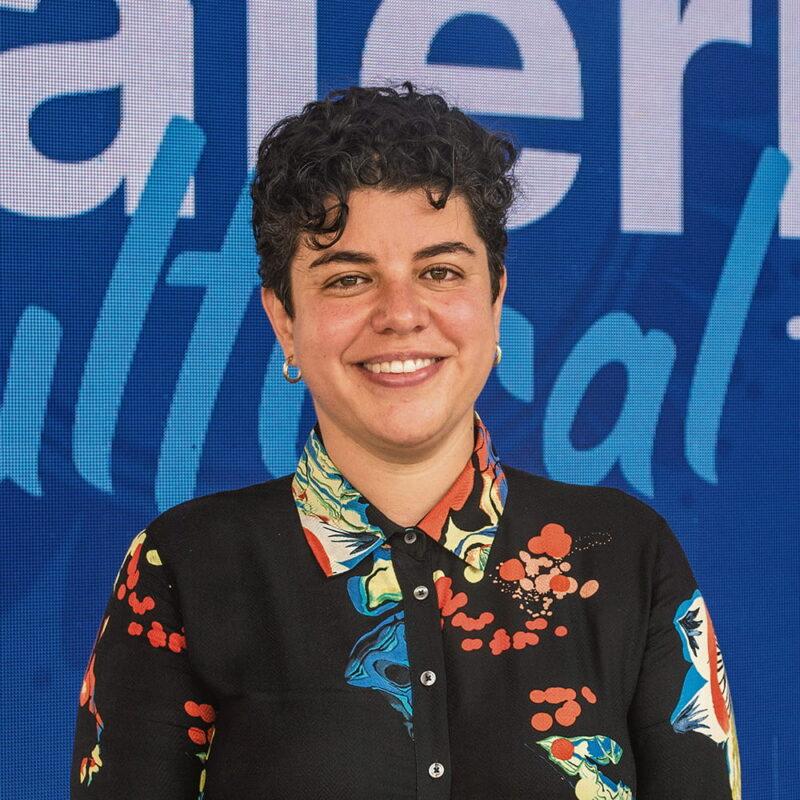 María Catalina Prieto, directora de  la Filarmónica de Medellín.