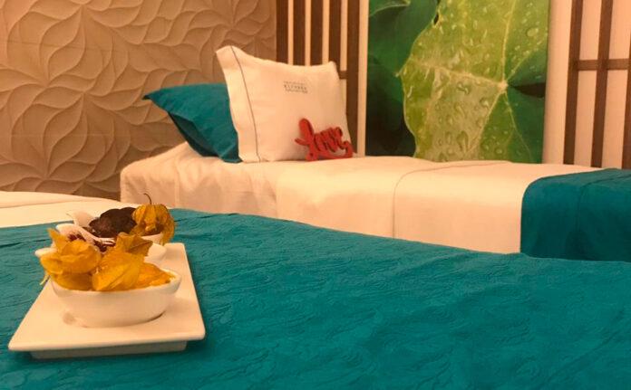 Novotel invita a Nirvana, su spa