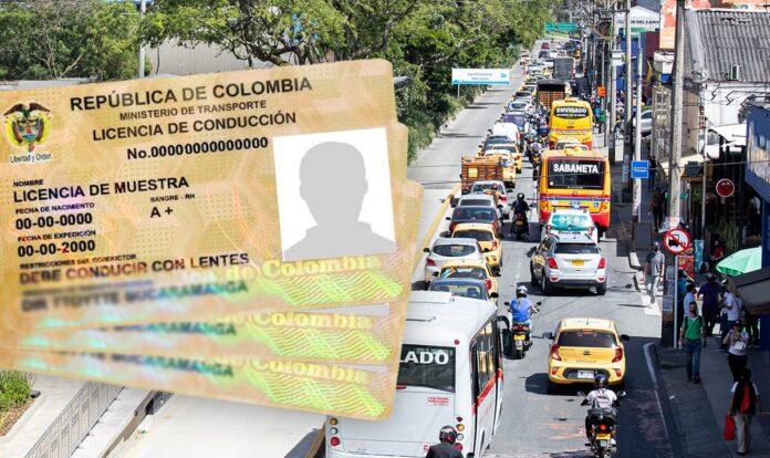 ¿Cómo es el proceso de renovación de licencias de conducción de vehículos particulares en Colombia?