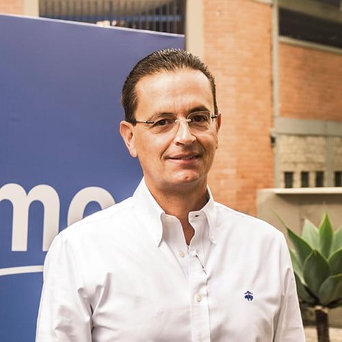 Santiago Uribe López, presidente del Fondo Inmobiliario Colombia.