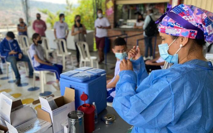 Vacunación contra el COVID19 s en Medellín al 14 de septiembre