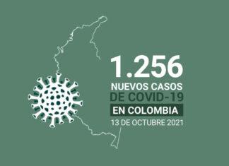 Casos de COVID19 tiene Colombia al 13 de octubre