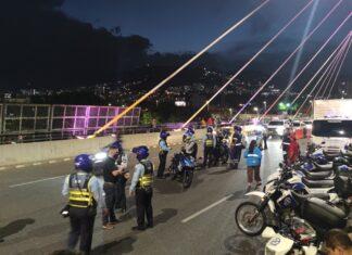 Controles de piques ilegales en Las Palmas y puente de la 4 Sur