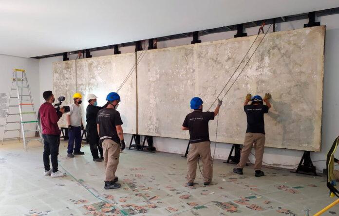 El Museo de Antioquia cumplirá 140 años el 29 de noviembre y como parte de la celebración, se espera que el mural esté listo para recibir al público