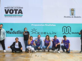 En Medellín para elegir la Marca Ciudad votaron más de 17.000 personas