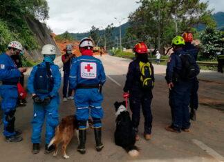 En derrumbe de Copacabana Antioquia descartan que haya personas