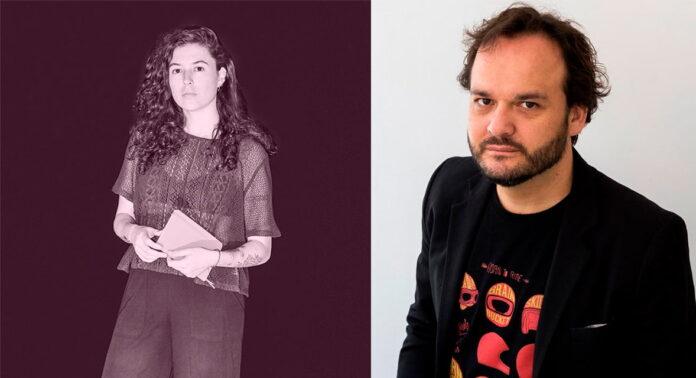 Los escritores Juan Cárdenas y Lina Parra hablan en libros Antimateria