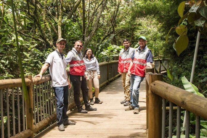 Los guardabosques vibran en Envigado con su riqueza ambiental