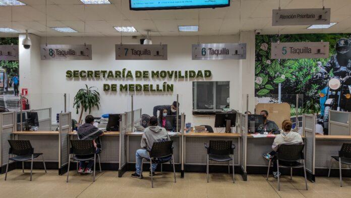 Los trámites en la Secretaría de Movilidad de Medellín con cita previa