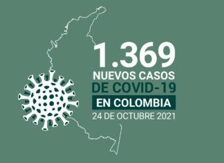 Más de 127.000 muertes por COVID19 suma Colombia al 24 de octubre