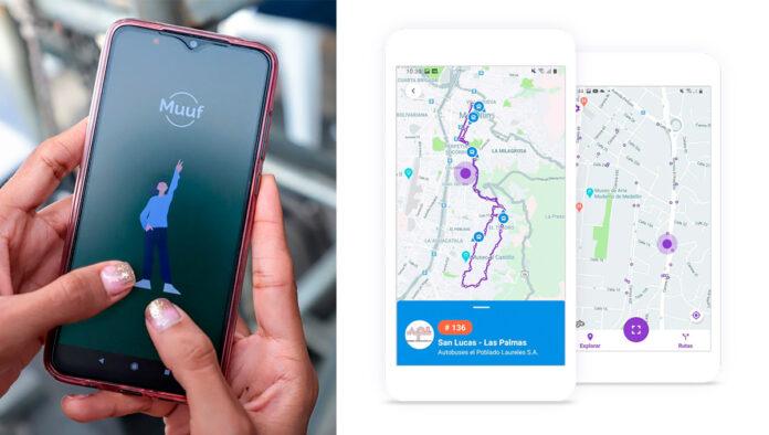 Muuf la App sobre el transporte público colectivo en Envigado