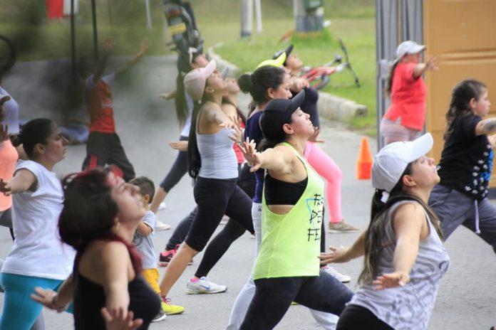 Carrera atlética por la mujer