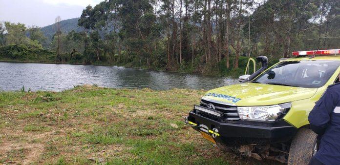 Padre e hijo mueren ahogados en lago de Rionegro