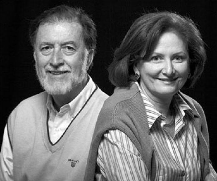 Adolfo Naranjo y Pilar Velilla: Entre tapetes, libros y arte.