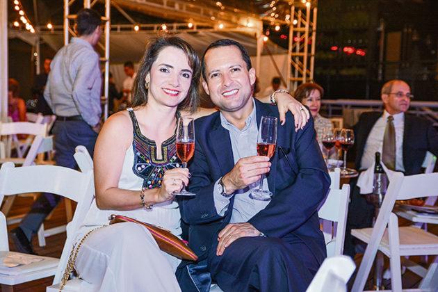 Adriana Jaramillo y Gustavo Mesa