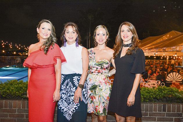 Adriana escobar, Estela Ponce de León, Patricia Mesa y Clara Escorcia